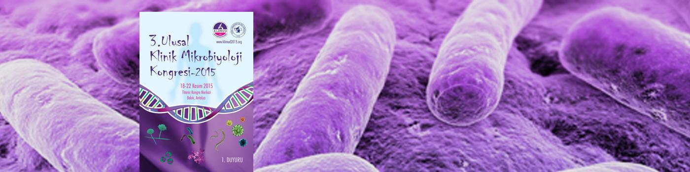 3. Ulusal Klinik Mikrobiyoloji Kongresi
