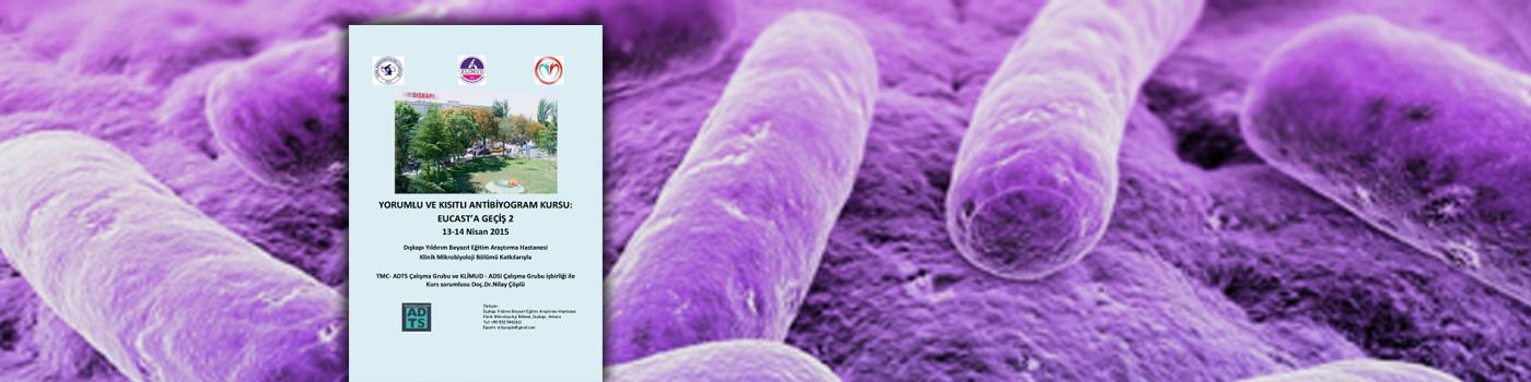 Yorumlu ve Kısıtlı Antibiyogram Kursu: EUCAST'a Geçiş 2
