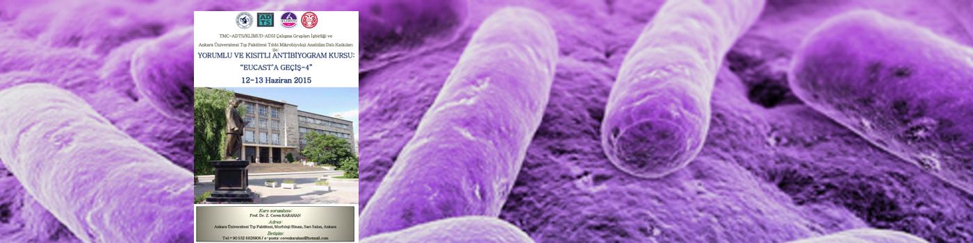 Yorumlu ve Kısıtlı Antibiyogram Kursu: EUCAST'a Geçiş 4