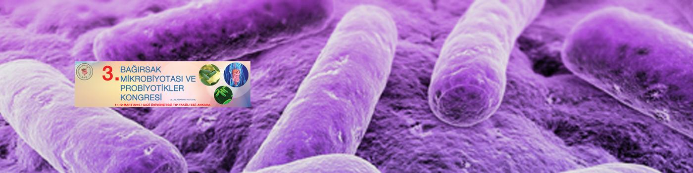 3.Bağırsak Mikrobiyotası ve Probiyotikler Kongresi