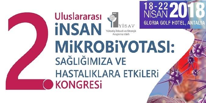 2. Uluslararası İnsan Mikrobiyotası ve Sağlığımıza Etkileri Kongresi