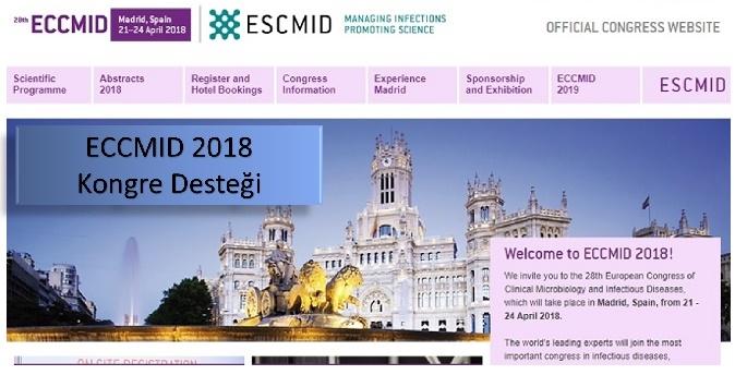 ECCMID 2018 Desteğimiz hk.