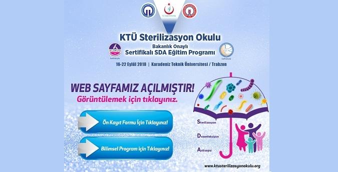 KTÜ Sterilizasyon Okulu Başvuruları Başladı!..
