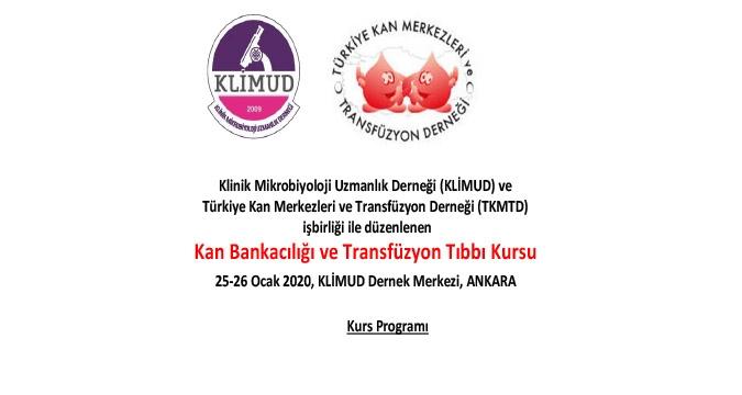 Kan Bankacılığı ve Transfüzyon Tıbbı Kursu