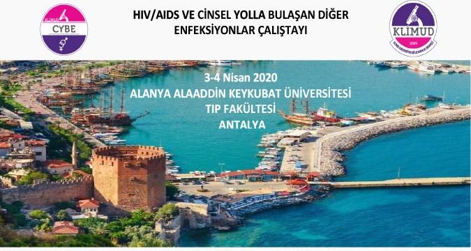 HIV/AIDS ve Cinsel Yolla Bulaşan Diğer Enfeksiyonlar Çalıştayı / 3-4 Nisan 2020 Antalya