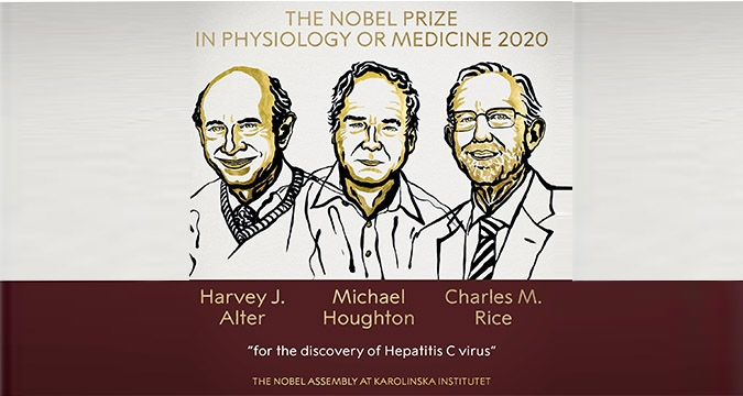 2020 Nobel Tıp Ödülü